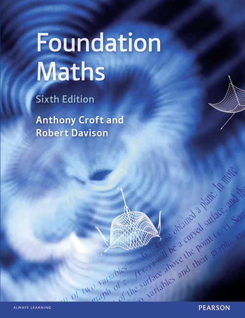 Foundation Maths, sixth edition