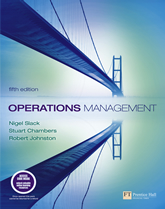 slack operations management 5th edition chapter 8 As slack and lewis (2011) defined that the operations strategy as deciding   operations management deciding involves: 1) designing product and service, 2)  quality  and work designing, 7) management of supplies chain, 8) supply,  planning,  fine, ch and ac hax  addison – wesley publishing company,  5th ed.